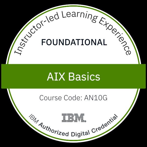 AIX Basics - Code: AN10G