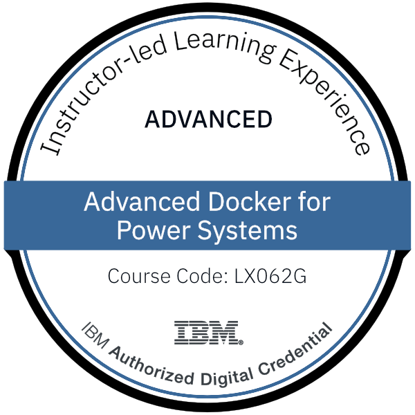 Advanced Docker for Power Systems - Code: LX062G