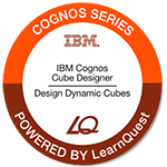 LearnQuest IBM Cognos Cube Designer - Design Dynamic Cubes