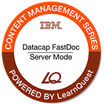 LearnQuest IBM Datacap: FastDoc Server Mode