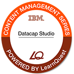 LearnQuest IBM Datacap: Datacap Studio