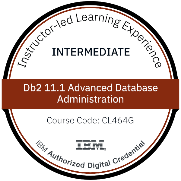 Db2 11.1 Advanced Database Administration - Code: CL464G