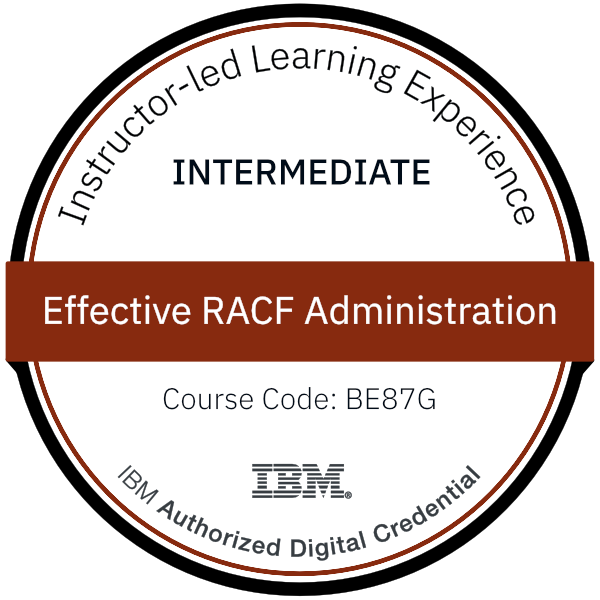 Effective RACF Administration - Code: BE87G