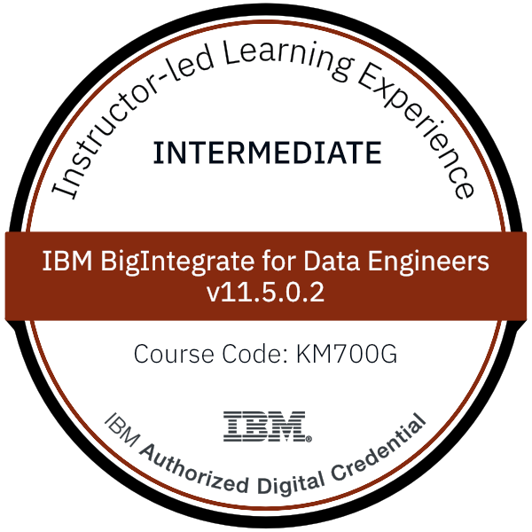 IBM BigIntegrate for Data Engineers v11.5.0.2 - Code: KM700G