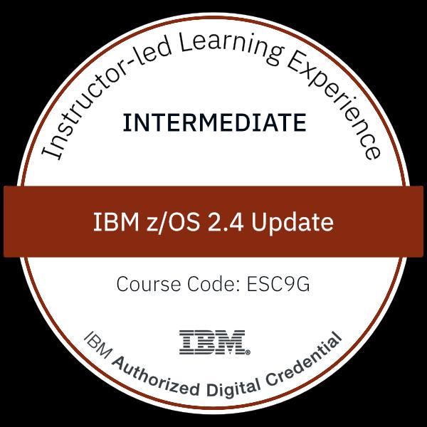 IBM z/OS 2.4 Update - Code: ESC9G