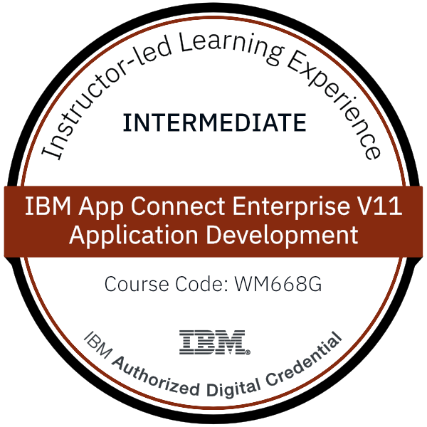 IBM App Connect Enterprise V11 Application Development - Code: WM668G