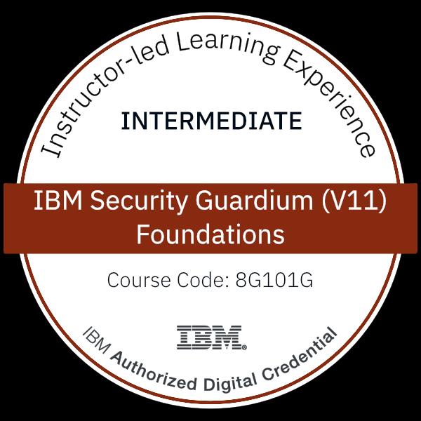 IBM Security Guardium (V11) Foundations - Code: 8G101G