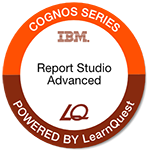 LearnQuest IBM Cognos BI Authoring Professional Reports: Advanced