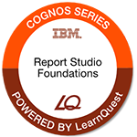 LearnQuest IBM Cognos BI Authoring Professional Reports: Fundamentals