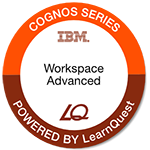 LearnQuest IBM Cognos Workspace Advanced: Author Self-Service Reports
