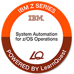 LearnQuest System Automation for z/OS Operations