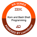 LearnQuest IBM Korn and Bash Shell Programming