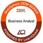 LearnQuest IBM Operational Decision Manager Business Analyst
