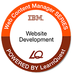 LearnQuest IBM Developing Websites Using Web Content Manager