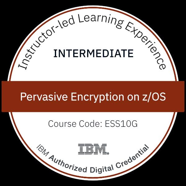 Pervasive Encryption on z/OS - Code: ESS10G