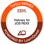 LearnQuest IBM Tivoli NetView for zOS REXX