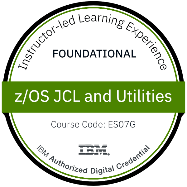 z/OS JCL and Utilities - Code: ES07G