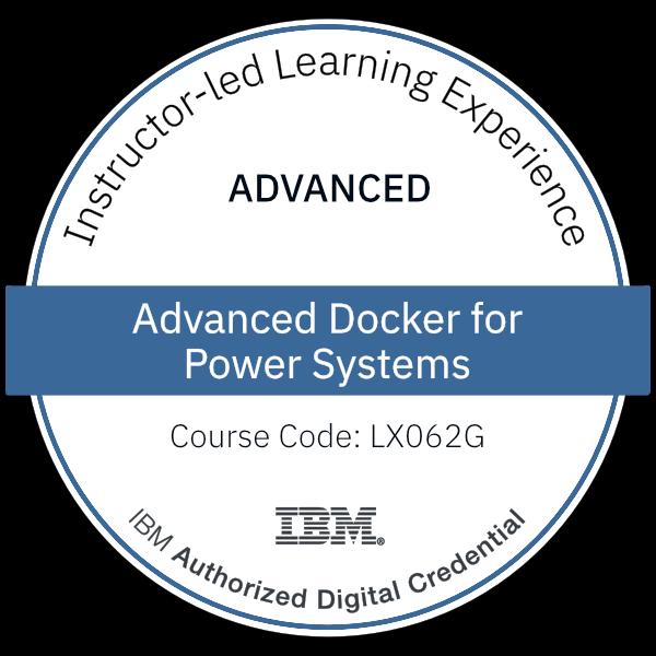 Advanced Docker for Power Systems - Code: LX062G