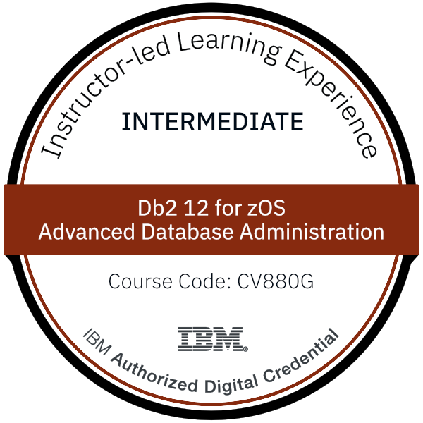 Db2 12 for zOS Advanced Database Administration