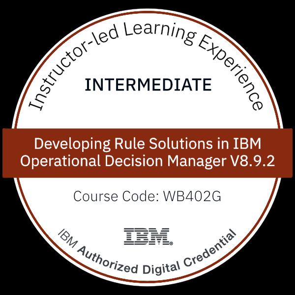 Report Studio Foundation IBM Digital Badge