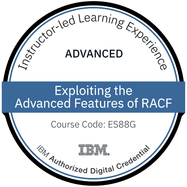 Exploiting the Advanced Features of RACF - Code: ES88G