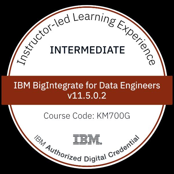 IBM BigIntegrate for Data Engineers v11.5.0.2 - Code: KM700G