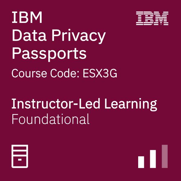 IBM Data Privacy Passports - Code: ESX3G