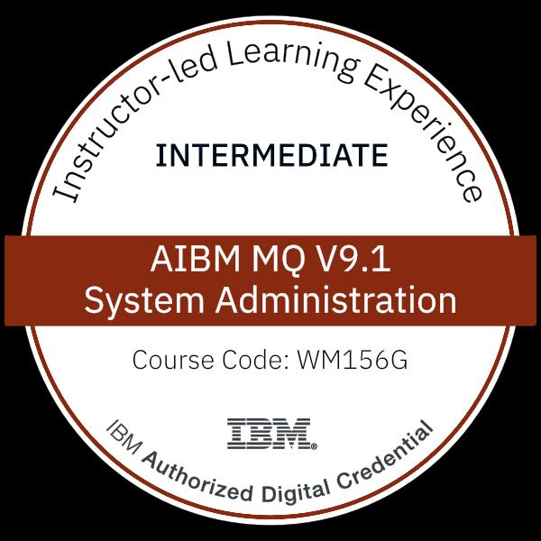 IBM MQ V9.1 System Administration - Code: WM156G