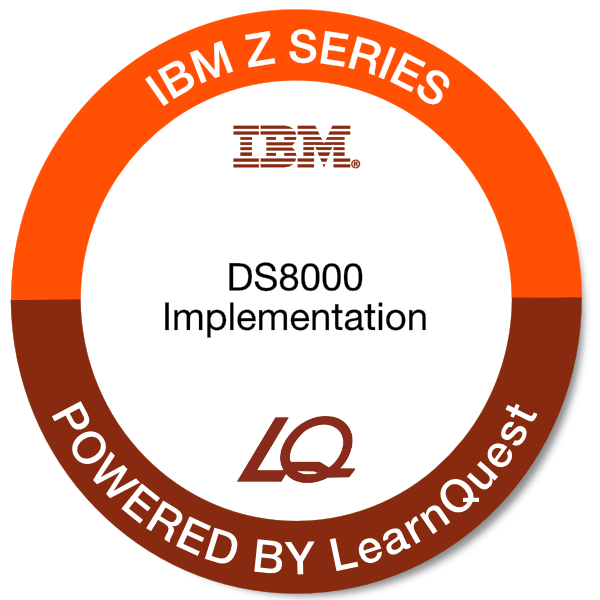 LearnQuest IBM DS8000 Implementation for z Systems