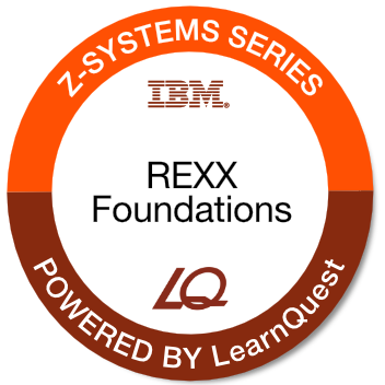 LearnQuest IBM z/OS REXX Programming Foundations