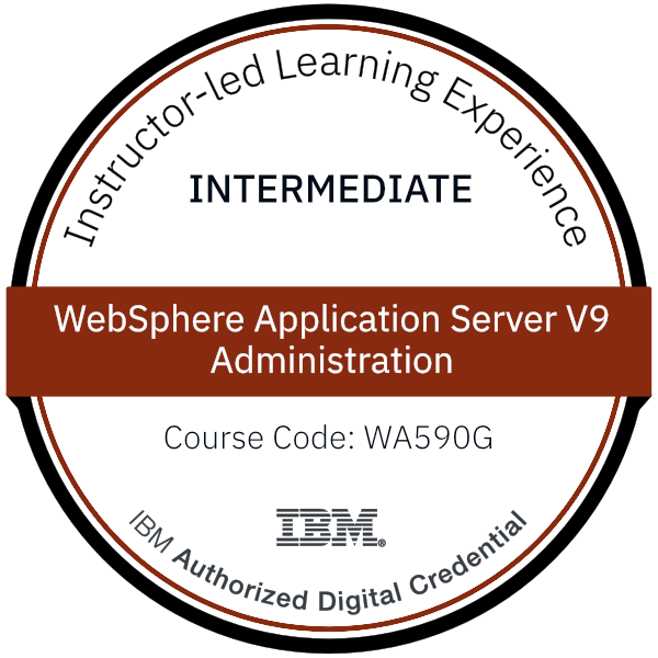 WebSphere Application Server V9 Administration - Code: WA590G