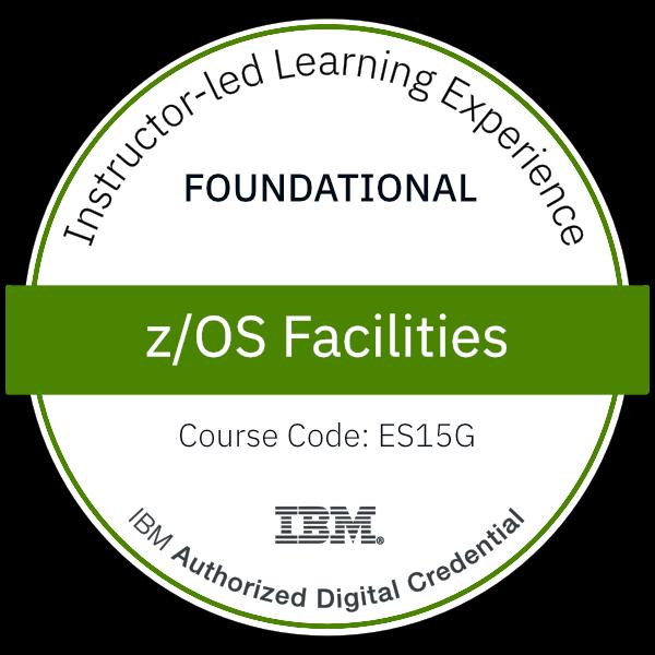 z/OS Facilities - Code: ES15G