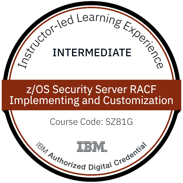 z/OS Security Server RACF, Implementing and Customization - Code: SZ81G