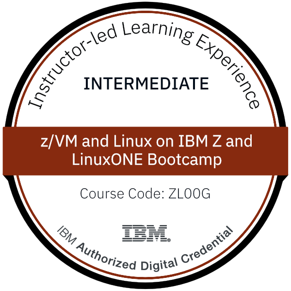 z/VM and Linux on IBM Z and LinuxONE Bootcamp - Code: ZL00G